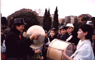 Carnevale al colosseo banda