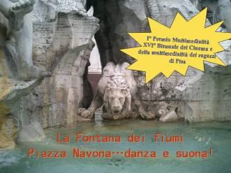 font.dei fiumi 1° Premio XVI° Biennale di Pisa 06
