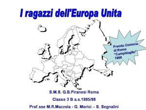I Ragazzi dell' Europa unita