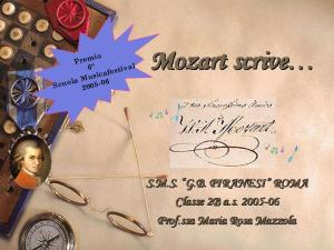 Mozart scrive 2006