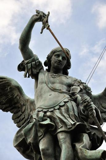 072 - The Angel of Pierre van Verschaffelt, Castel Sant'Angelo, Roma